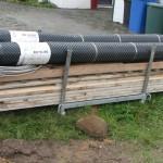 Material für die Bodenplatte
