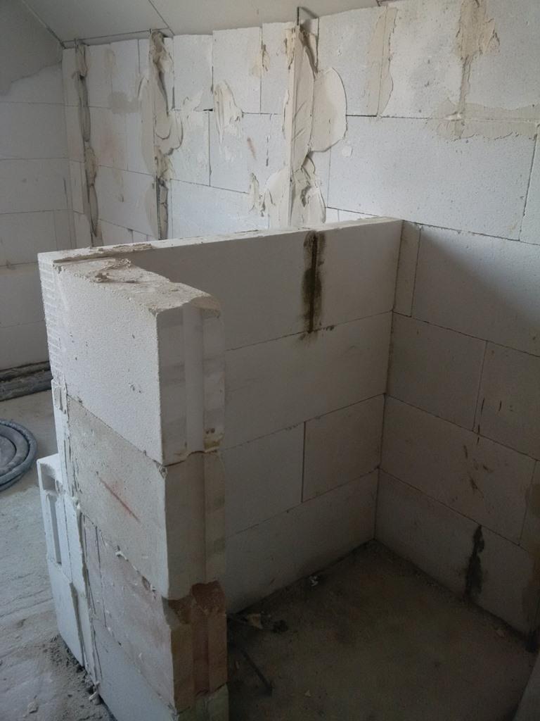 die maurer kamen nochmal f r restarbeiten schicker friese. Black Bedroom Furniture Sets. Home Design Ideas