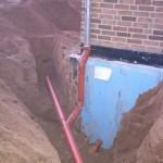 Regenwasserleitung