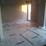 Wohnzimmer gedämmt