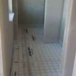 Gäste WC gedämmt