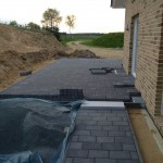 Terrasse giebelseitig