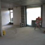 Wohnzimmer ohne Stützen