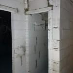 Türsturz unter der Kellertreppe