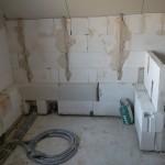Abmauerung Badewanne