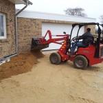 Der Sand kommt ans Haus